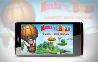 Serunya Game Masha and The Bear di Android