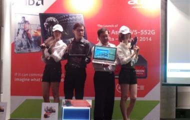[Live Blogging]  Launching Aspire V5-552G: Notebook Gaming Mainstream Pertama dengan AMD A10