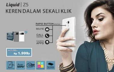 Liquid Z5 Roadshow 4 kota berhadiah smartphone di Acer #Z5lfie Photo Contest