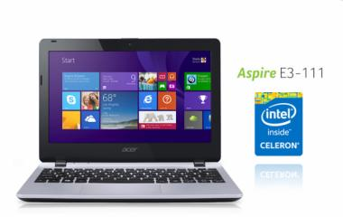 Acer Aspire E3-111: Mini Notebook Stylish Harga Tiga Jutaan