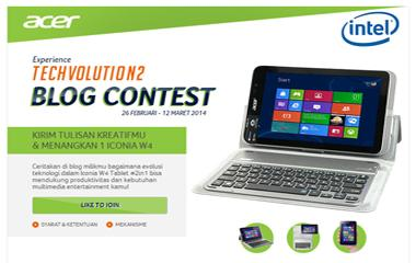 Acer Iconia W4 #Techvolution2 Blog Contest