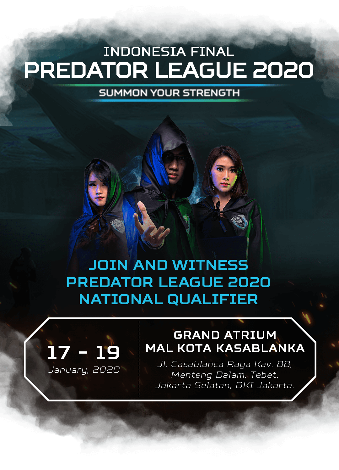 Promo Predator League 2019