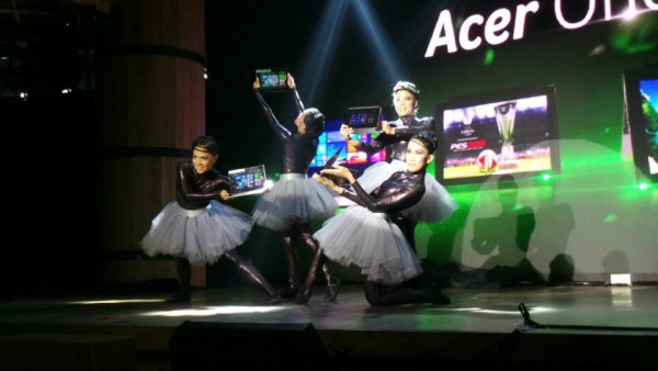 launching acer one 10 jakarta dance