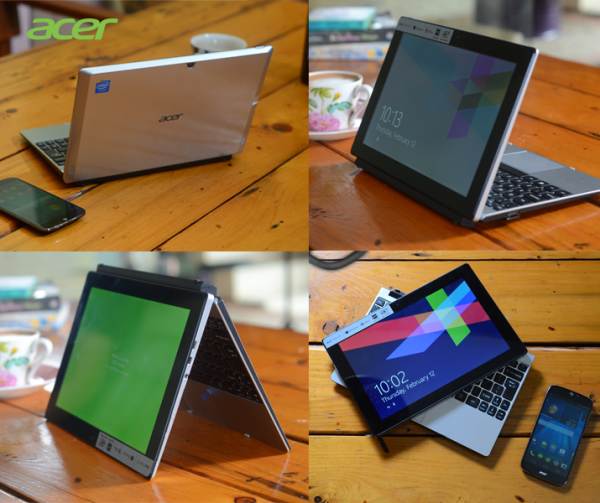Fleksibilitas Notebook Hybrid Acer One 10