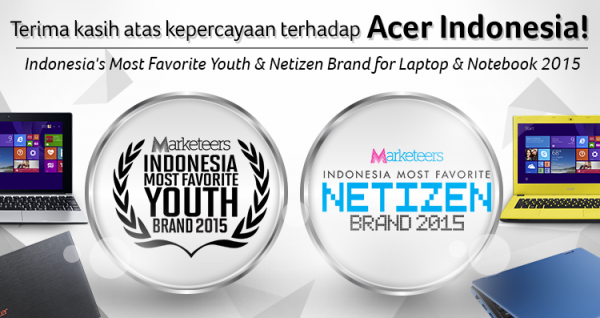 Acer Indonesia Marketeers awards 2015 inside