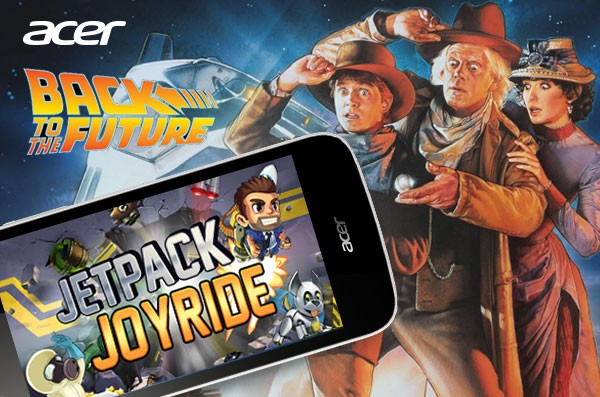 Wah, Game Mobile Jetpack Joyride berkolaborasi dengan Movie Legendaris Back to The Future!