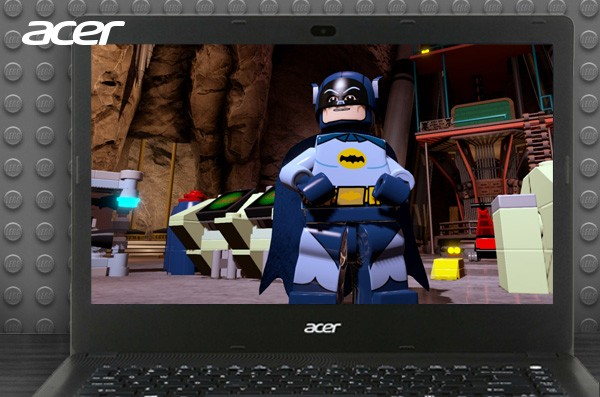 Main Game Batman dengan Karakter Mini