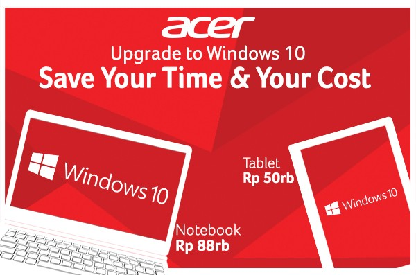 Hore, Bisa Upgrade Windows 10 Gratis di ACSC!