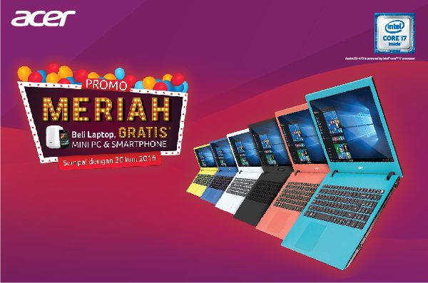Promo Meriah Acer: Beli Laptop GRATIS Mini PC Revo One!