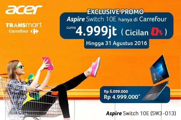 Exclusive Promo Switch 10E di Carrefour