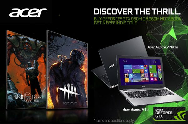 Nvidia Indie Bundle Tawarkan Sensasi Seru Main Game Hard Reset Redux dan Dead by Daylight!