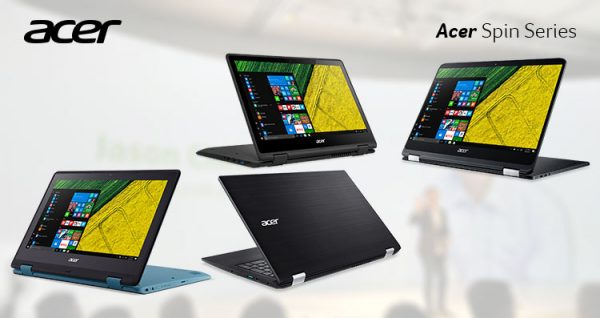 acer spin series