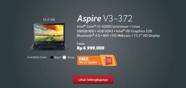 promo acer
