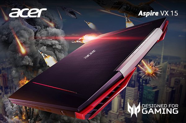 Tampil Agresif dengan Laptop Gaming Acer Aspire VX 15