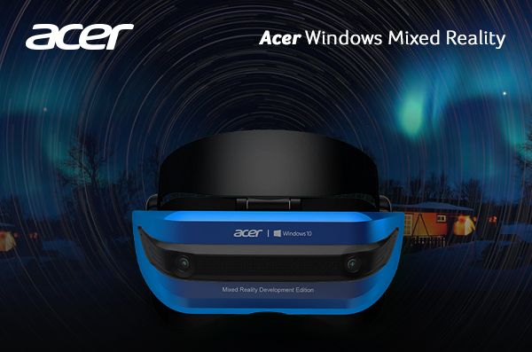 Acer Meluncurkan Headset Windows Mixed Reality