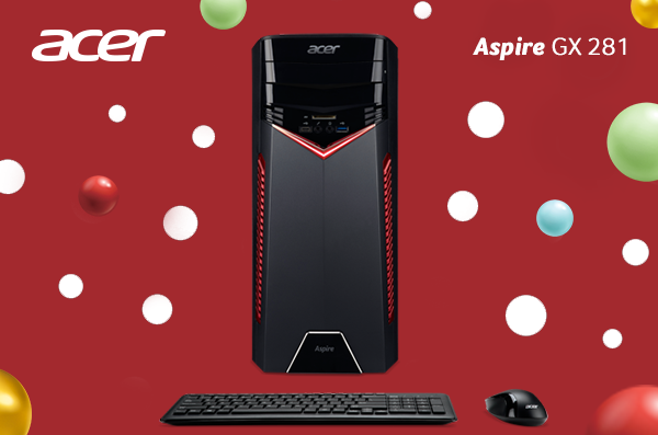 Aspire GX 281: Desktop Gaming dengan Prosesor AMD