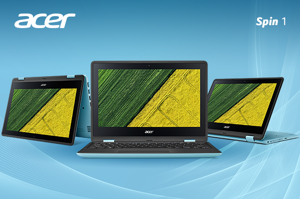 Acer Spin 1, Inspiring Notebook For Your Multitasking Needs