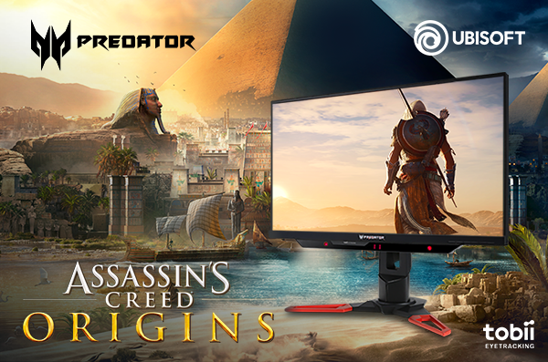 Beli Predator Z271T Dapat Assassin's Creed Origins Gratis!