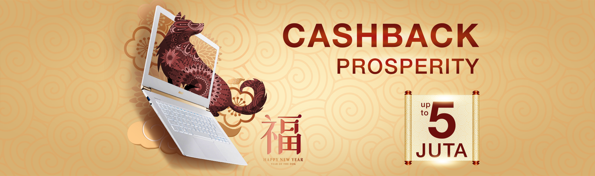 Meriahkan Chinese New Year dengan Prosperity Offer!