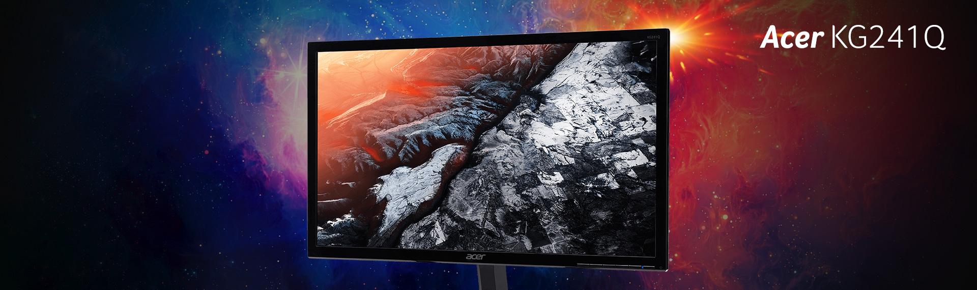 Nikmati Tampilan Detail dan Warna Memukau dari Monitor Acer KG241Q