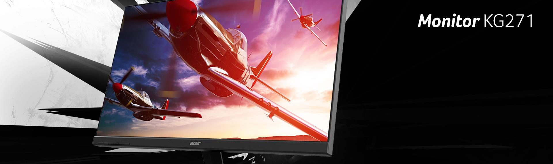Gaming Monitor KG271: Layar Terbaik untuk Tampilkan Game Favoritmu