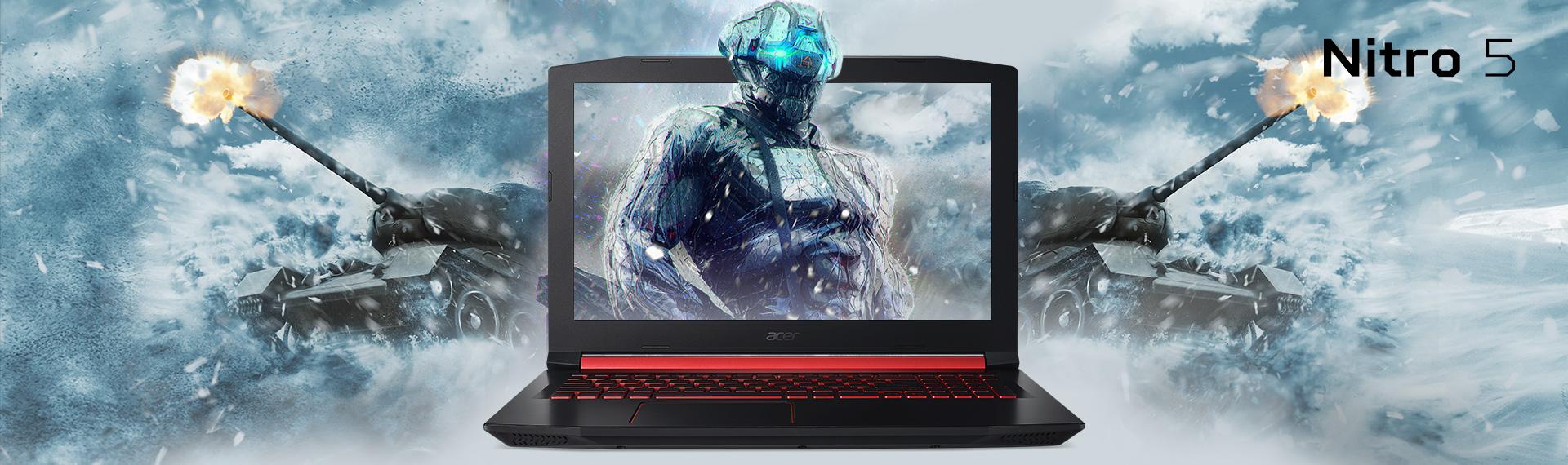 Laptop Nitro 5 Intel Core i5, Ideal untuk Gamer Casual