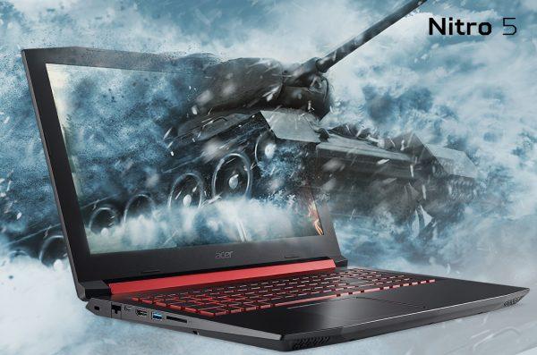 Acer Gaming Predator Nitro 5 AN515-52-73Y8 W10 - Black