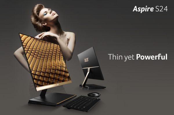 Aspire S24 dan Aspire U27, PC AIO untuk Gaya Hidup Masa Kini