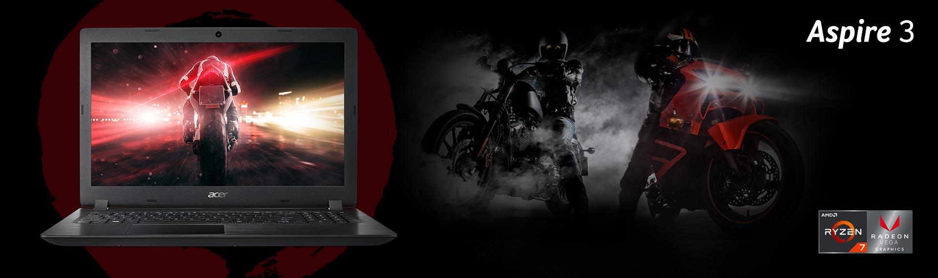 Acer Aspire 3, Tipis dan Super Kuat berkat Prosesor AMD Ryzen Terbaru