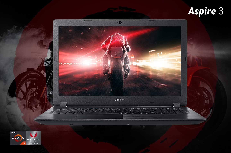 Acer Aspire 3, Super Kuat berkat Prosesor AMD Ryzen Terbaru