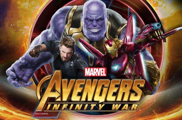 Laptop Avengers Infinity War