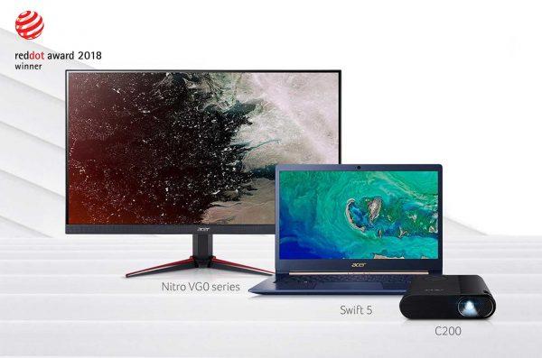 Acer Raih 13 Penghargaan di Red Dot Design Award 2018
