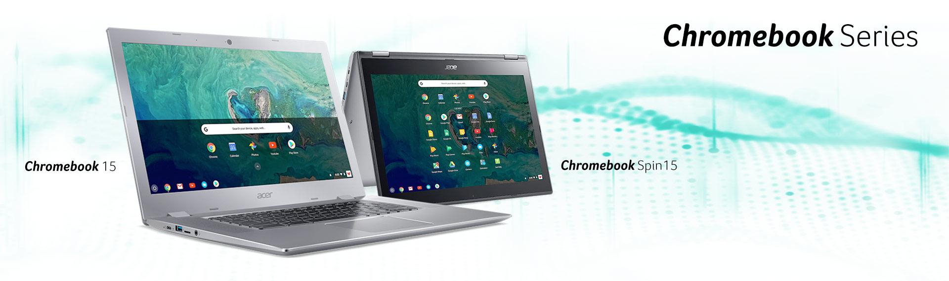 Ketangguhan dan Kekuatan Lini Keluarga Baru Acer Chromebook