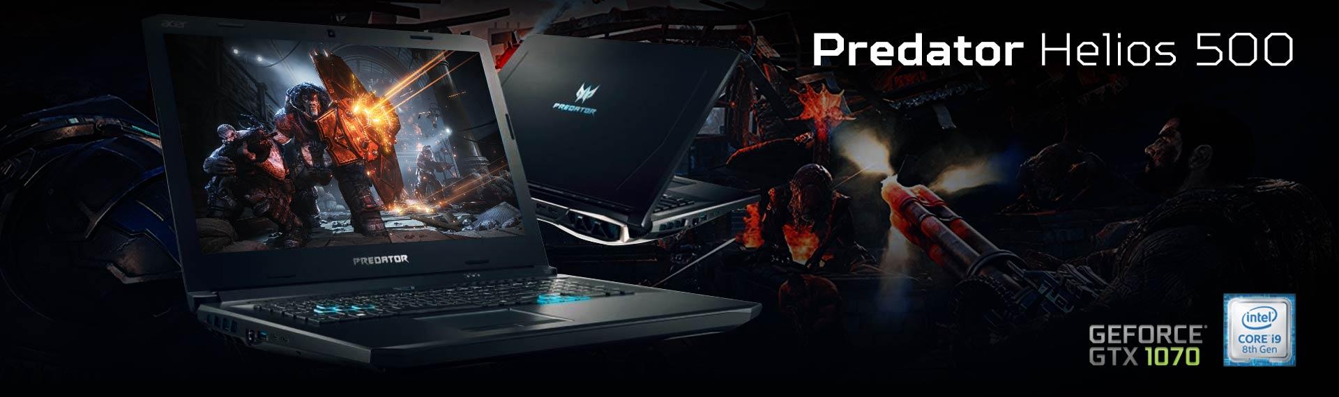 Predator Helios 500, Laptop Super Kencang dengan Prosesor Intel Core i9