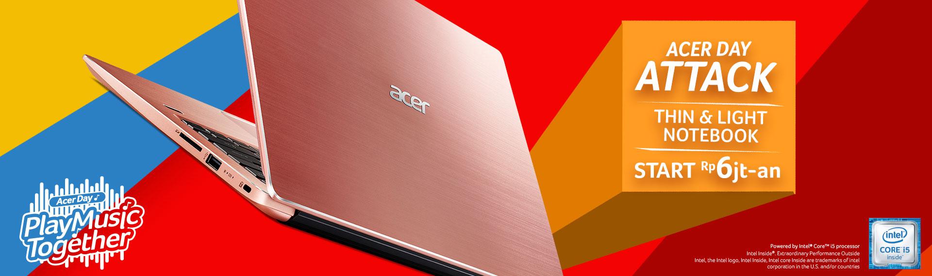 Swift 3 Acer Day Edition (SF314-54G), Satu-satunya Notebook Tipis dan Ringan yang Bisa Upgrade RAM!