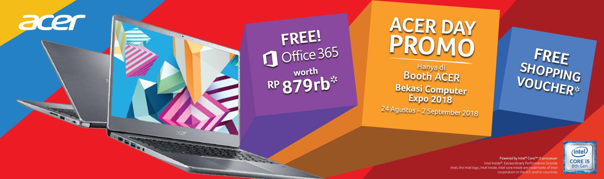 Acer Day Tebar Promo Produk di Bekasi Computer Expo!