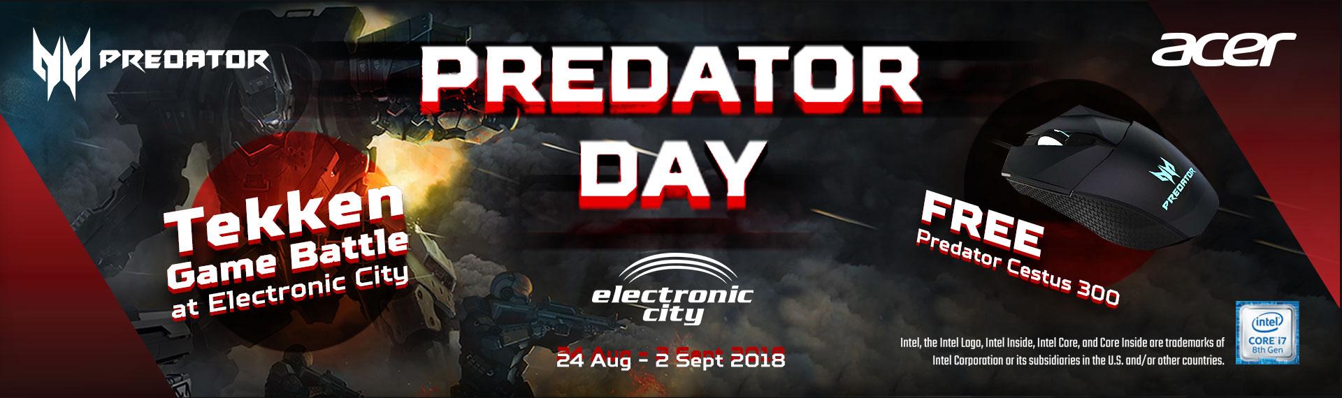 Semarak Predator Day, Beli Nitro 5 Gratis Predator Mouse Cestus 300!