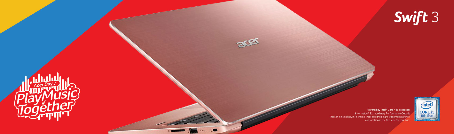 Swift 3 Acer Day Edition, Laptop Tipis Terbaik untuk Kamu yang Aktif!