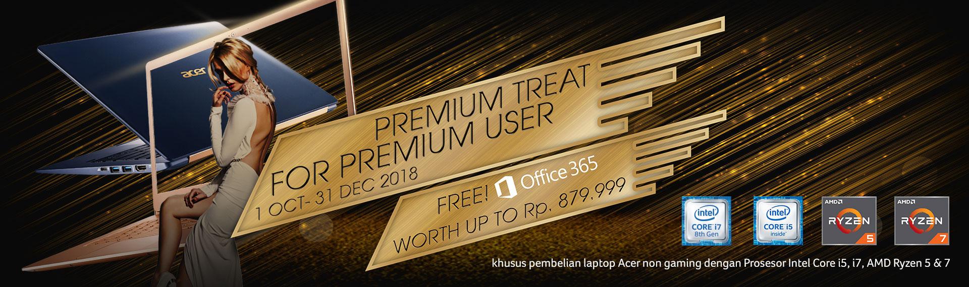 Ingin Dapat Office 365 Gratis? Buruan Beli Laptop Thin and Light Acer!