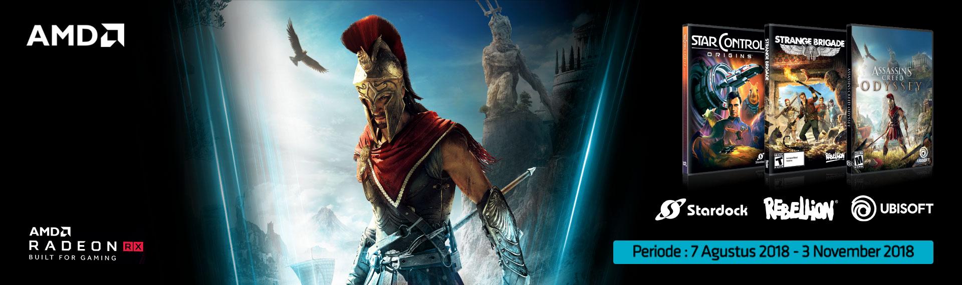 Beli Predator Helios 500, Gratis Assassin's Creed: Odyssey dan Game Lainnya!