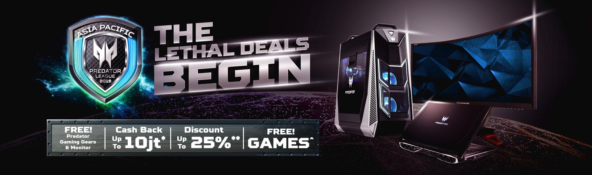 Promo Gaming Series dari Acer Datang Lagi dengan Bonus Super Keren!