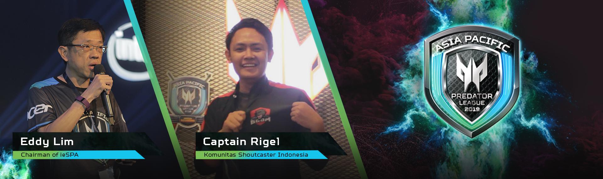 Semangat dan Harapan Mereka untuk Asia Pacific Predator League 2019