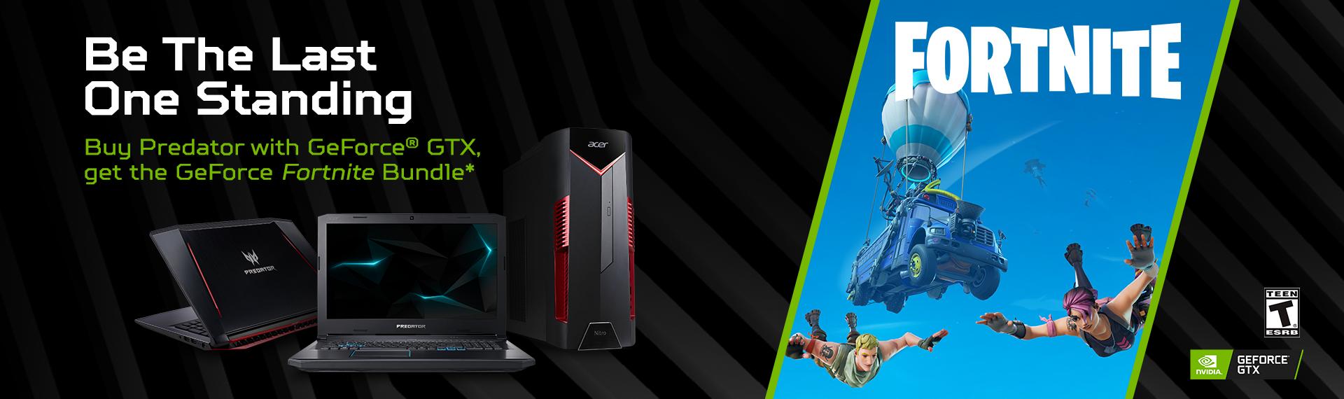 Beli Gaming Series Acer dengan NVIDIA Gratis V-Buck Fortnite dan Items Keren!