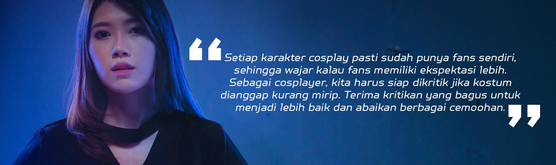 Predator Warrior Jeanice Ang: Cosplayer Introvert Ini Suka Cowok Humoris!