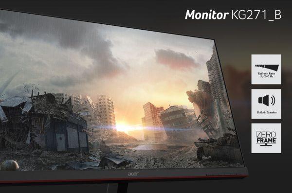 Monitor Gaming Acer KG271_B