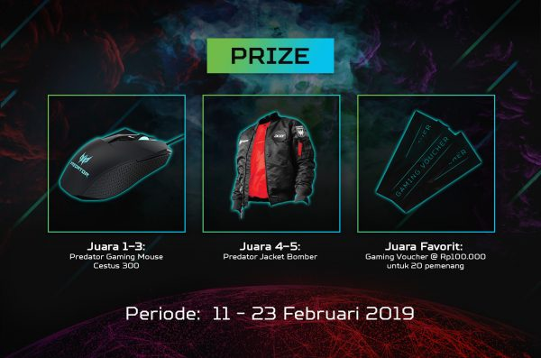 Kontes predator league 2019