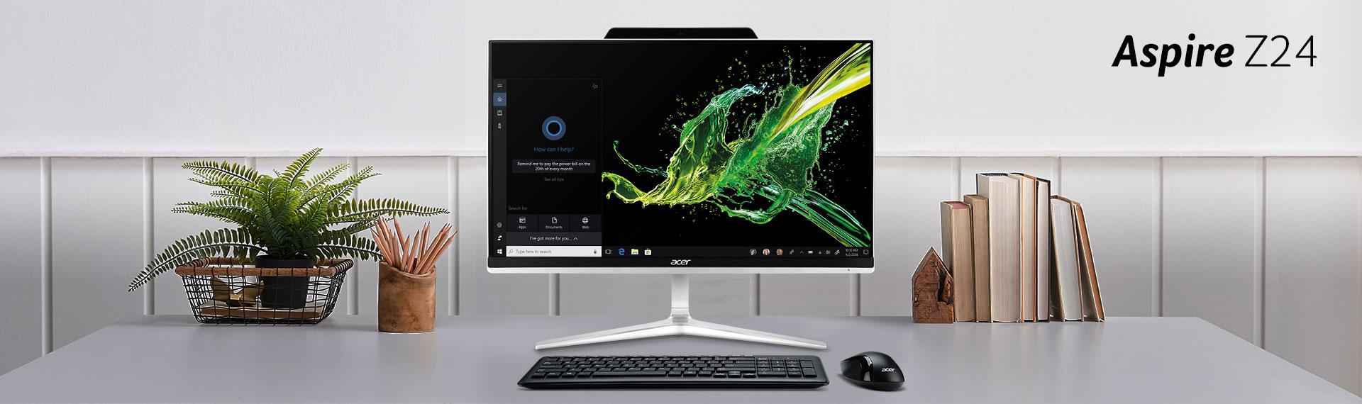 PC AIO Aspire Z24-890, Perangkat Hebat untuk Teman Kerja dan Main