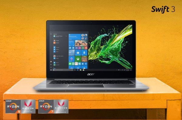 Laptop Swift 3 (SF315-41) AMD Ryzen Series, Ringan dengan Performa Menakjubkan!