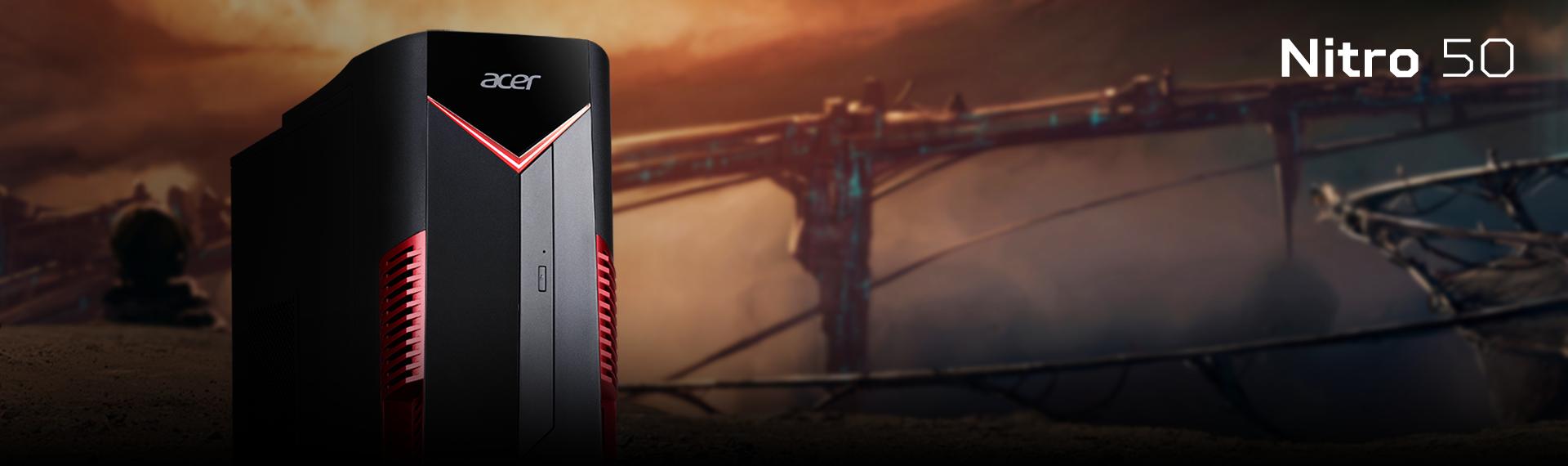Nitro 50 Ryzen 7 Kekuatan Desktop Bikin Kamu Non-stop Mengasah Skill Gaming!