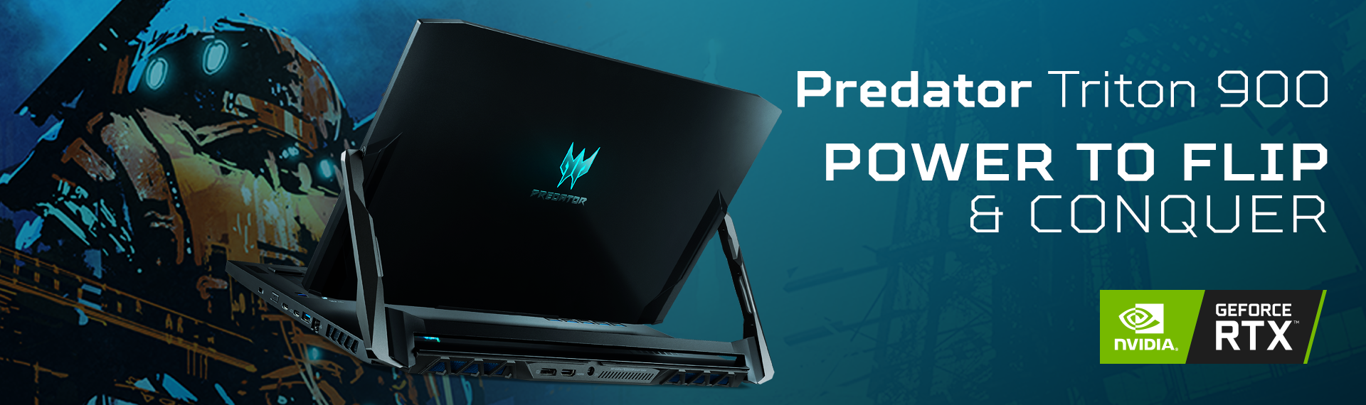 Predator Triton 900 Intel 9th Gen, Laptop Gaming yang Punya Jeroan Cadas!